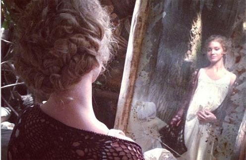 Образ будущей мамы в интерпретации Кристины получился очень нежным