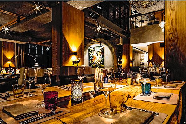 Фишкой ресторана Реввы была перуанская кухня