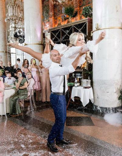 Андрей и Кристина несколько месяцев репетировали танец