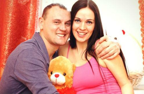 Степан Меньщиков с женой Евгенией