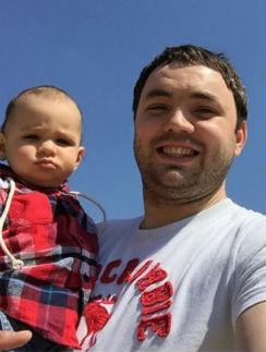 Александр Гобозов с сыном Робертом