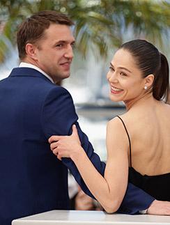 Впервые об  их романе   заговорили   после премьеры   «Левиафана»   на Каннском   кинофестивале   в мае 2014 года