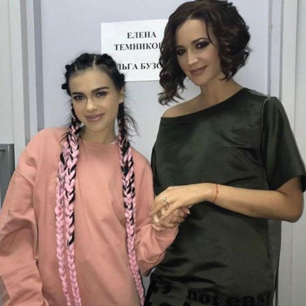 Лена Темникова и Ольга Бузова