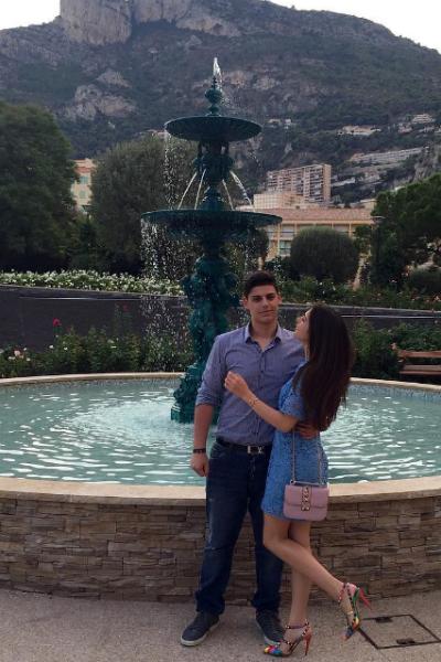 Влюбленные часто отдыхали за границей вместе