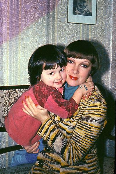 Мария Порошина с мамой