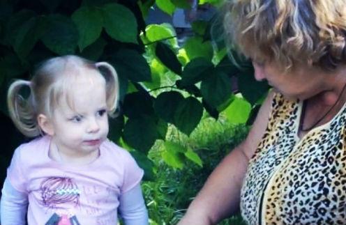 Павла с бабушкой