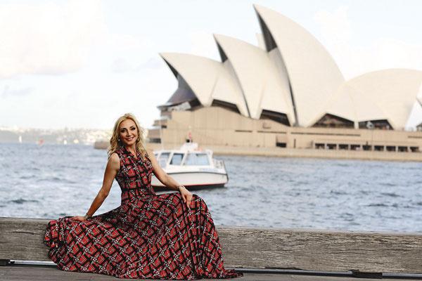 Оперный театр в Сиднее произвел на певицу огромное впечатление