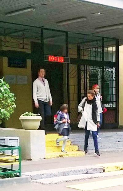Юлия забрала дочь из школы 11 сентября