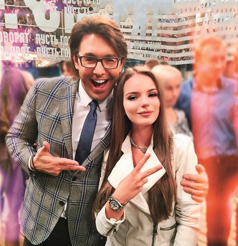 Мы с королевой YouTube на «Аффтар жжот» в декабре 2015-го