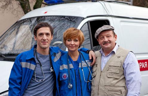 Герои Смольянинова, Поверенновой и Громова ездят на одной «скорой»