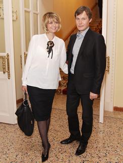 Юлия Меньшова и Игорь Гордин
