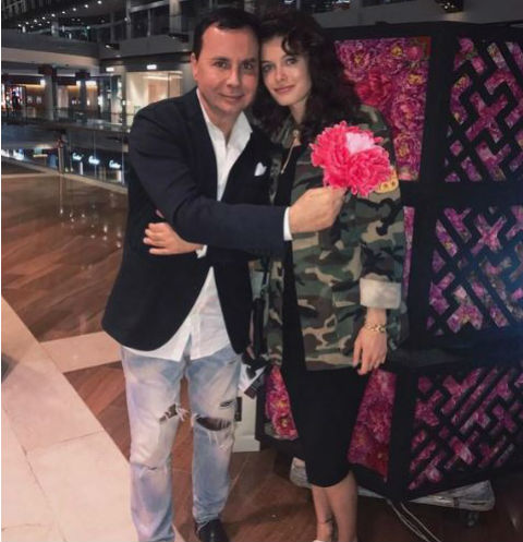Лиза с супругом Валентином