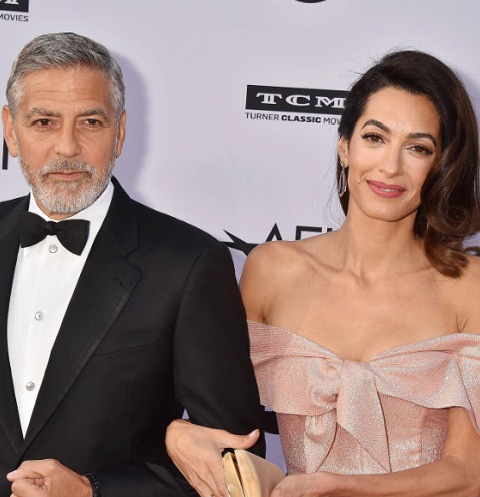 Жена Джорджа Клуни ушла от мужа с детьми