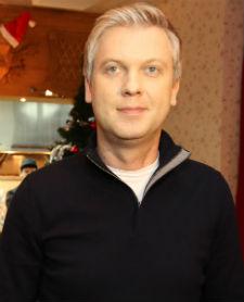 Сергей Светлаков, дочь Анастасия и сын Иван