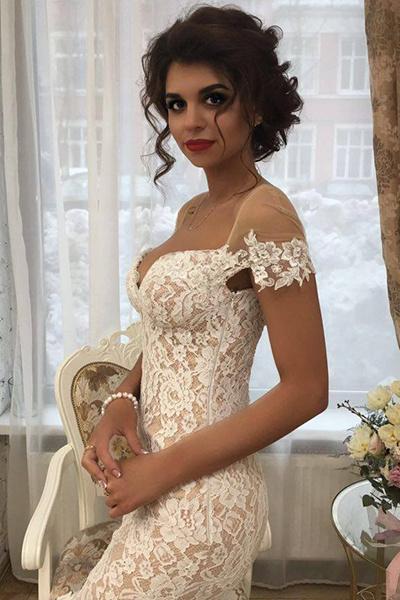 В свадебном платье Алиана выглядела сногсшибательно