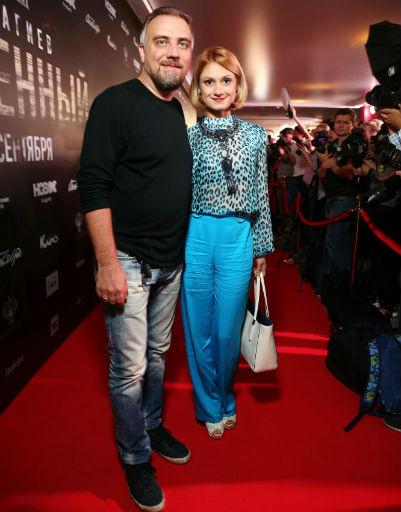 Карина Мишулина с мужем Дмитрием