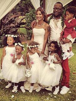 Свадебное фото Бобби Брауна