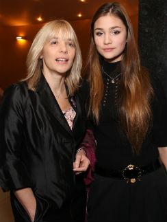 Вера Глаголева с дочерью Настей Шубской