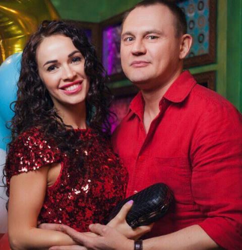 Степан Меньщиков с бывшей женой
