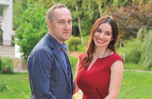 Надежда Грановская с мужем Михаилом