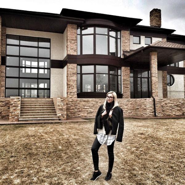 Будучи в браке с футболистом Ольга Бузова планировала жить в этом доме