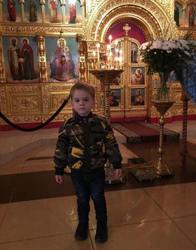 Никита, сын Сергея Лазарева