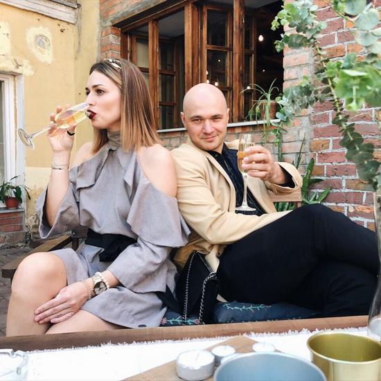 Рэпер Влади с женой Виталией Господарик