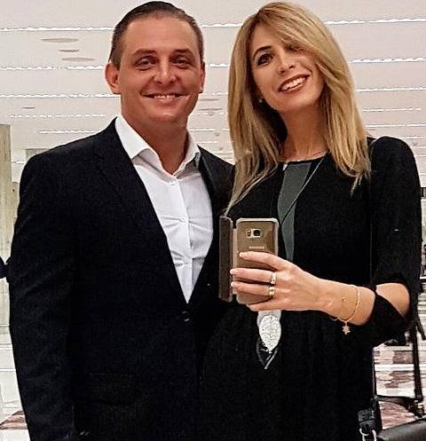 Асколь Запашный с женой Элен