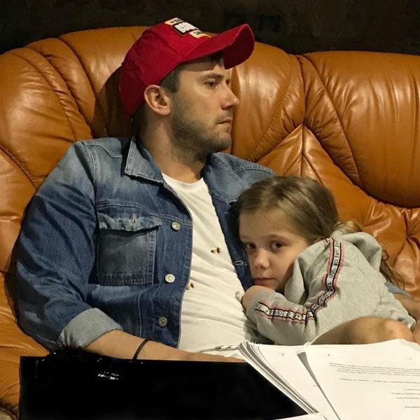 Иван Жидков и его дочь