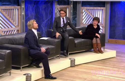 Николай Басков и Людмила Гнатив в студии «Пусть говорят»