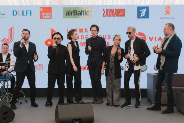 Артисты готовятся к фестивалю