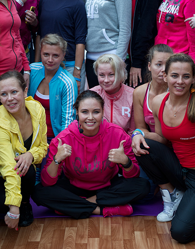 Фото на паямять с участницами мастер-класса