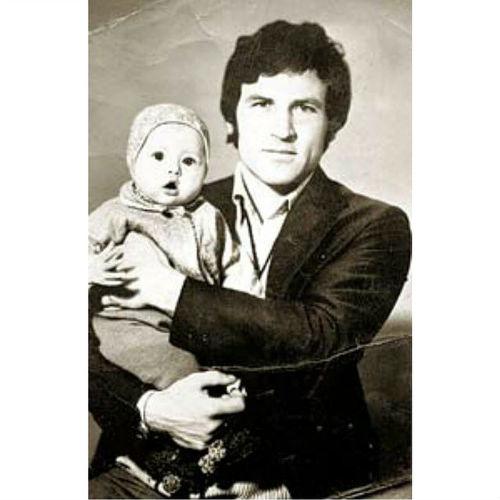 Николай Михайлович Белан с дочкой Еленой