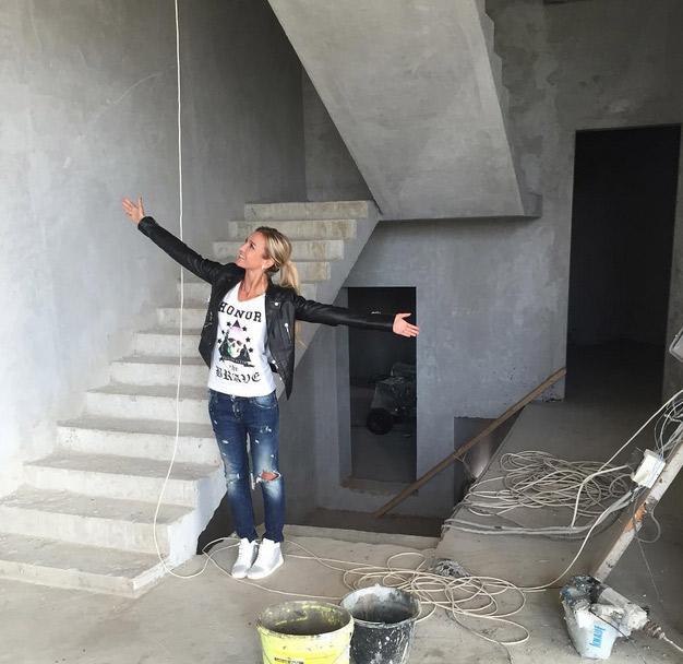 Ольга радуется любым измненениям, связанным с ремонтом