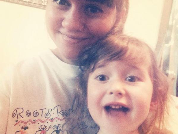 Аня с дочкой Софьей