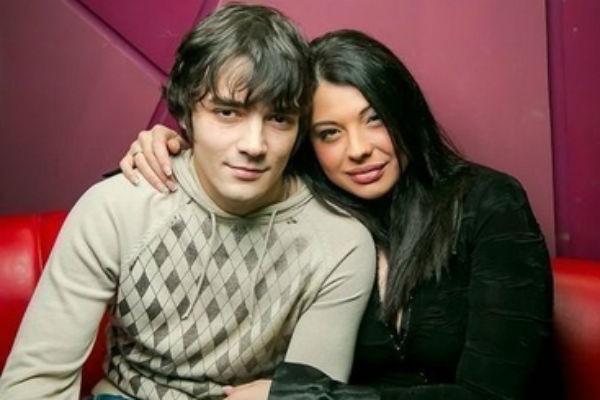 Инна Воловичева с супругом