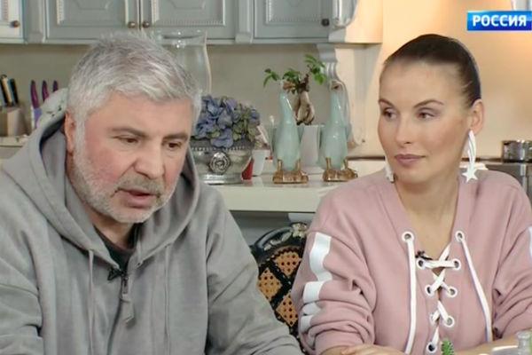 Сосо Павлиашвили с женой Ириной