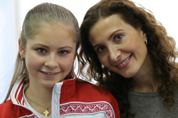 Юлия Липницкая и Этери Тутберидзе