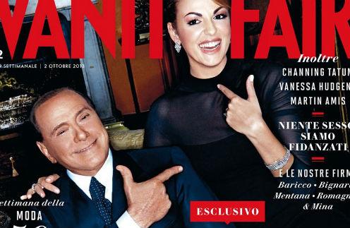 Сильвио Берлускони и Франческа Паскале стали героями обложки октябрьского номера журнала