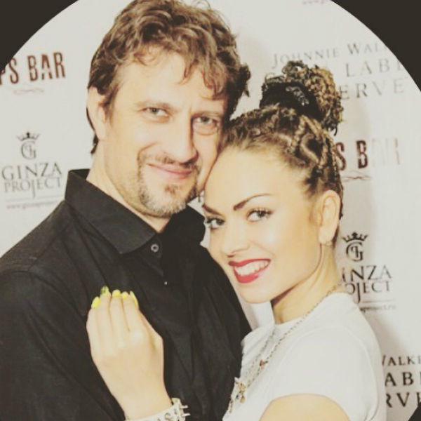 Оксана Казакова и супруг Алексей
