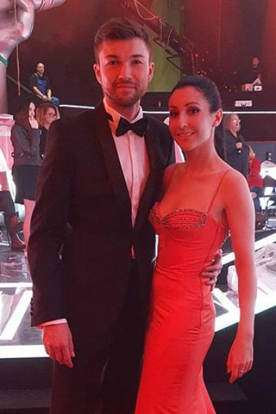 Станислав и певица Алла Рид
