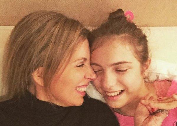 Светлана Бондарчук с дочерью Варварой