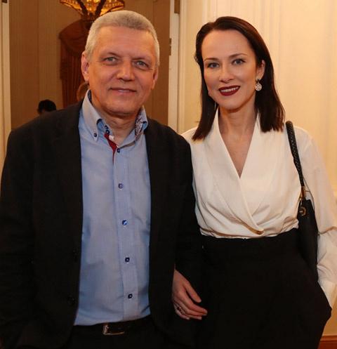 Александр Галибин с женой Ириной