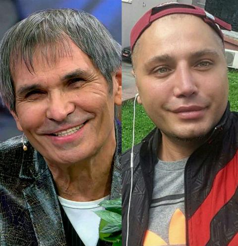 Бари Алибасов и Рустам Солнцев