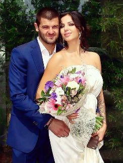 Александр Радулов с супругой Дарьей