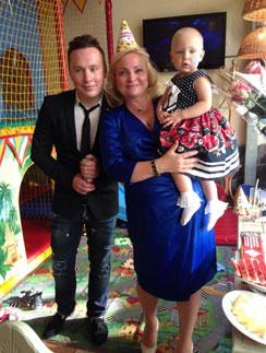 Вся семья в сборе - Максим, Светлана и Варя