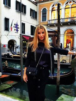 Ольга Орлова в любимой Венеции