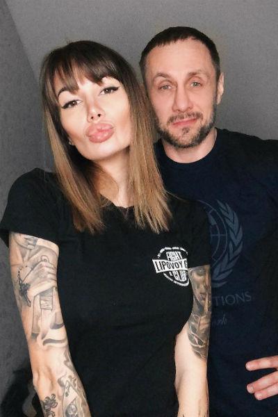 Александр Липовой женился на модели Саше Кабаевой