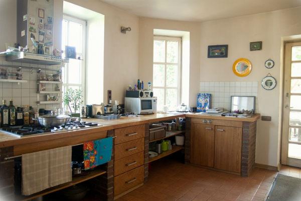 Кухня в доме Голубкиной
