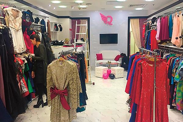 Магазин одежды Анна открыла в ноябре прошлого года